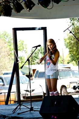 National Oldtime Fiddle performance ©Kelley Branstetter